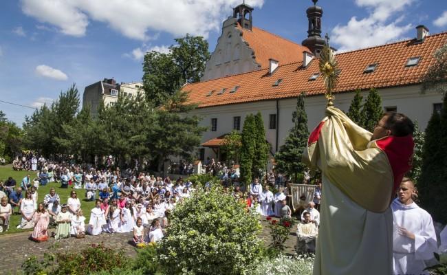 Franciszkanie BozeCialo 2017 64