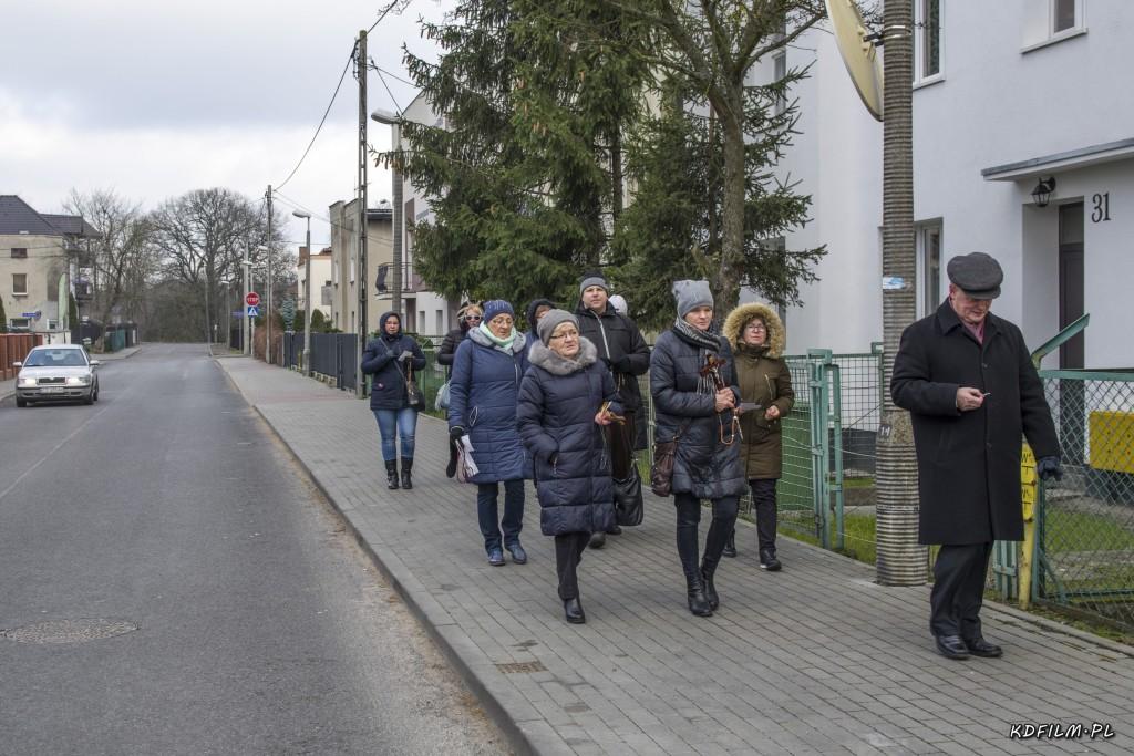 Omodlenie Rekolekcji na ulicach parafii 09-12-2017