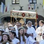 Franciszkanie Torun Boze Cialo 31-05-2018 08