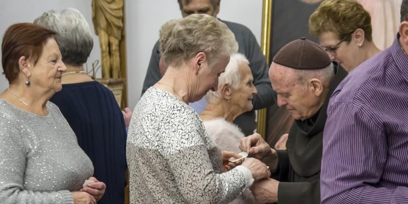 Zdjecia (Franciszkanie) Spotkanie oplatkowe Rozaniec 29-12-2018 16