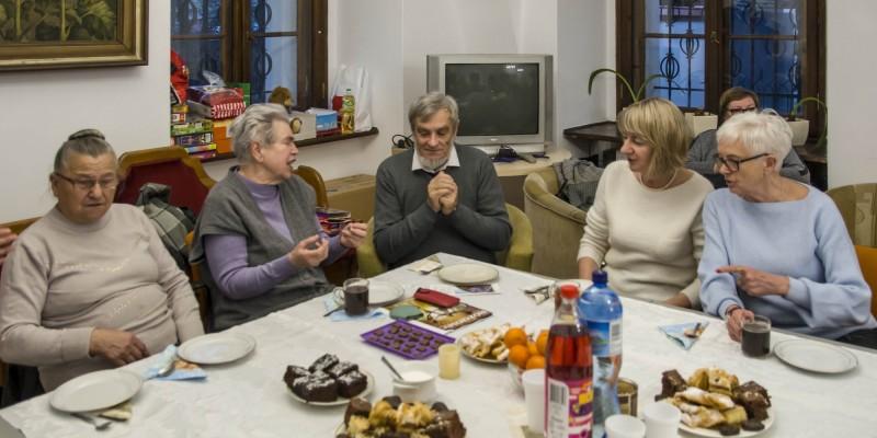 Zdjecia (Franciszkanie) Spotkanie oplatkowe Rozaniec 29-12-2018 22