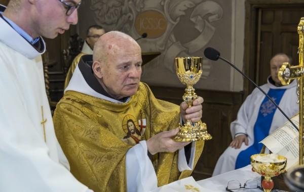 Ojciec Błażej – 60 lat kapłanem Boga Wszechmogącego  – jubileusz 1 maja 2019r.