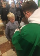 Nowi ministranci w parafii  06-10-2019 rok