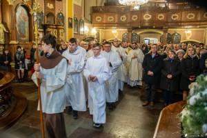 Pasterka u Franciszkanów w Toruniu