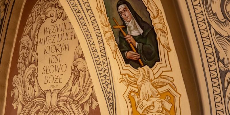 Wprowadzenie relikwi bl Jolenty Franciszkanie Torun 2019 20