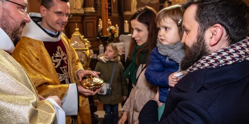 Wprowadzenie relikwi bl Jolenty Franciszkanie Torun 2019 36