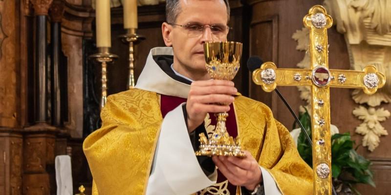 Wprowadzenie relikwi bl Jolenty Franciszkanie Torun 2019 39
