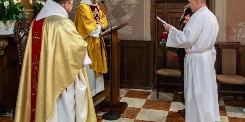 Wprowadzenie relikwi bl Jolenty Franciszkanie Torun 2019 45