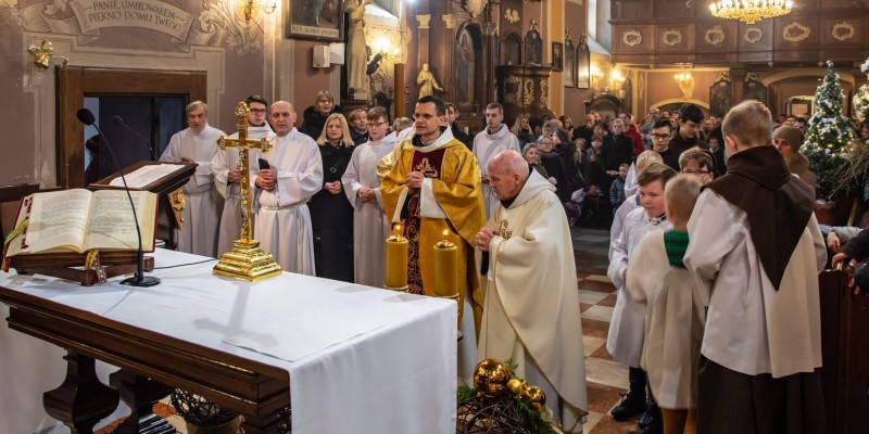 Wprowadzenie relikwi bl Jolenty Franciszkanie Torun 2019 49