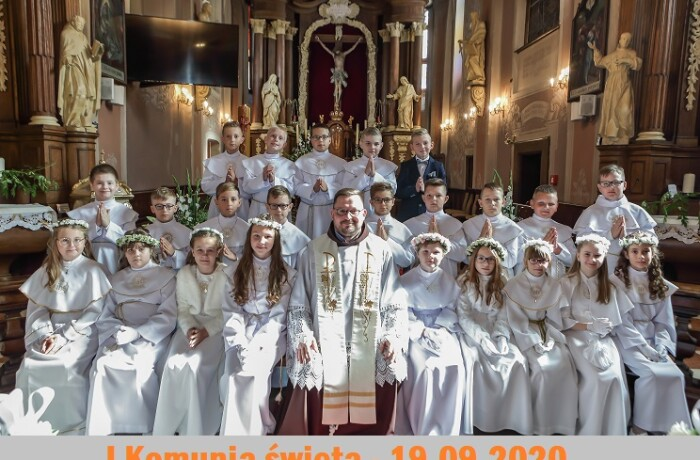 I Komunia święta 19.09.2020