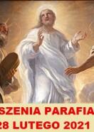OGŁOSZENIA PARAFIALNE II NIEDZIELA WIELKIEGO POSTU 28.02.2021 R.