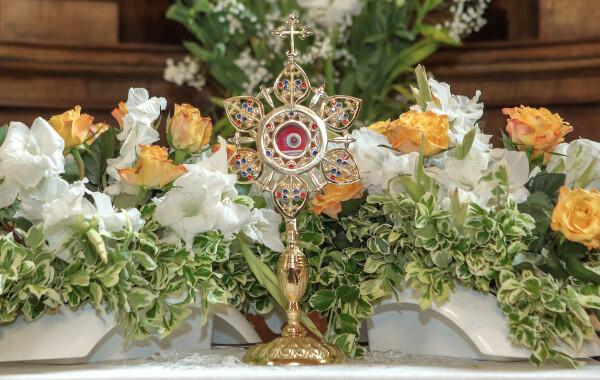 Wprowadzenie relikwii bł. Elżbiety Canori Mory 16-05-2021