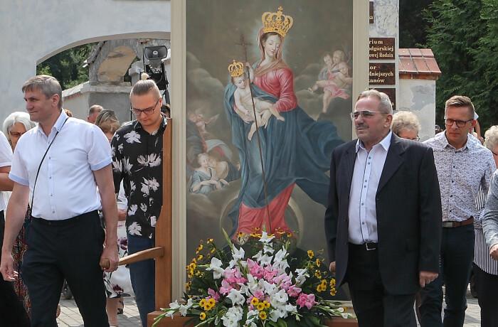 Odpust ku czci Matki Bożej Podgórskiej Niepokalanej Królowej Rodzin 22-08-2021.